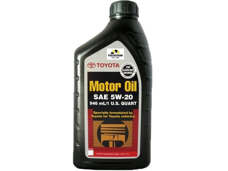 TOYOTA Motor Oil  5W20  SN (q) 0.946л  (00279-1QT20)