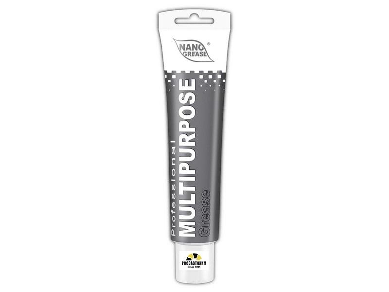 Смазка NANO GREY Multipurpose Grease 0.1кг Серая туба