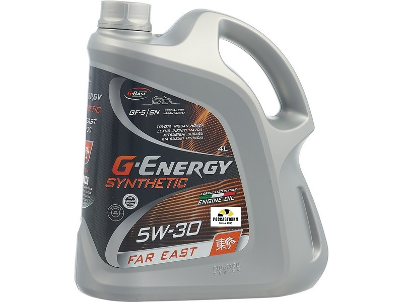 5w30 G-Energy Far East   4л  синт.
