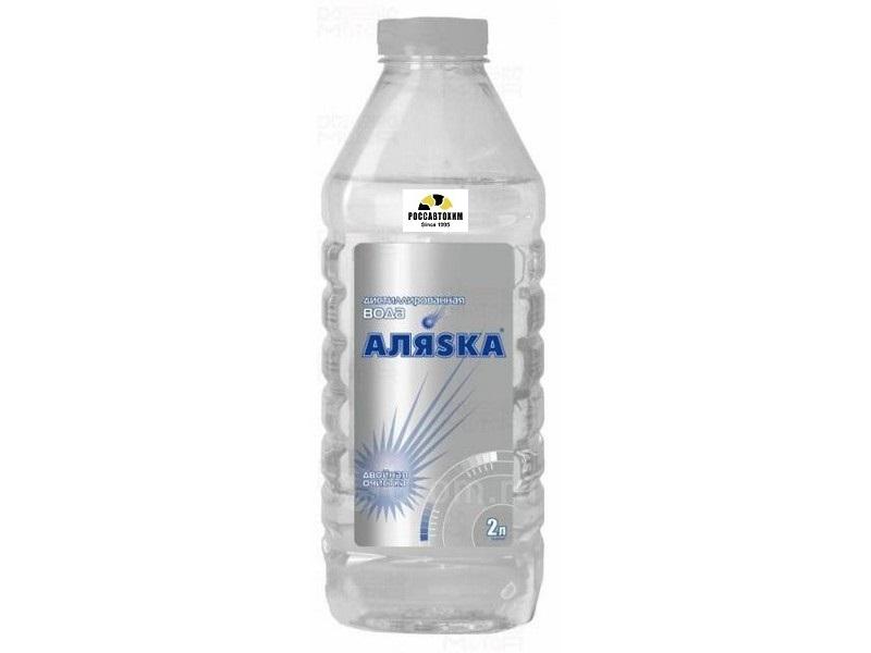 Вода  дистиллированная Аляска 2л