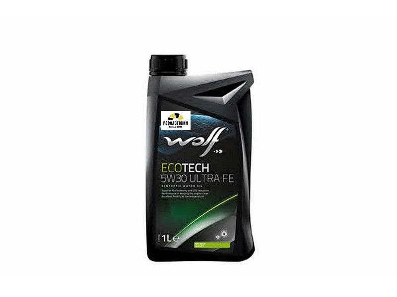 WOLF  5w30 Ecotech Ultra FE  1л /8311598/