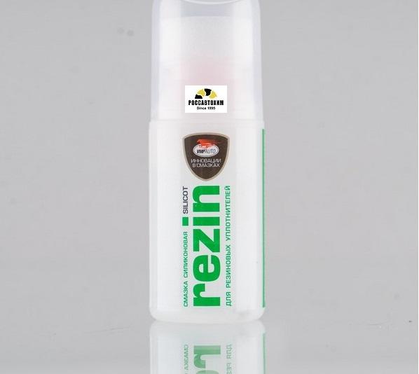 Смазка силиконовая Silicot Rezin 30мл с губкой (для резиновых уплотнителей)