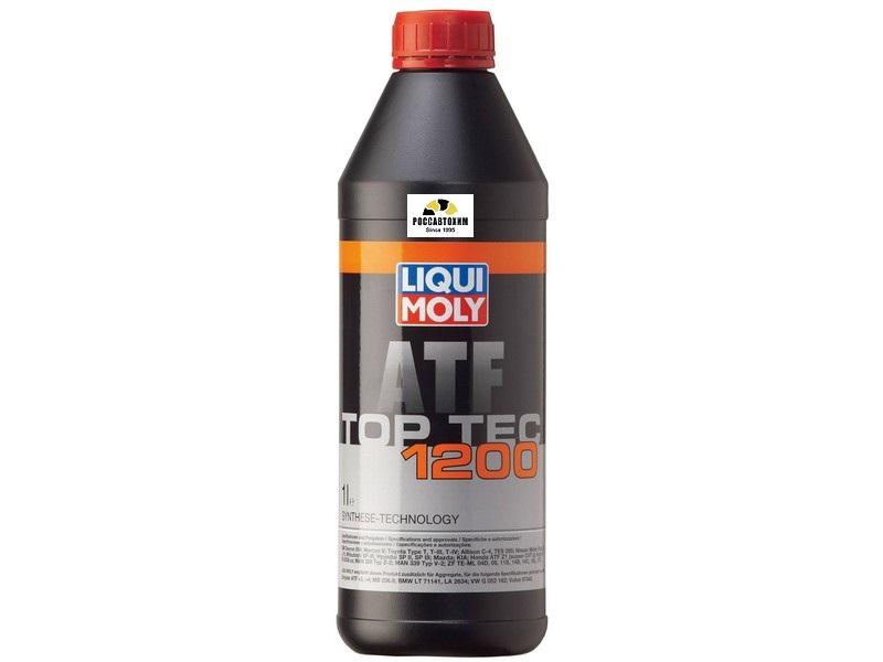 7502 LIQUI MOLY масло для АКПП Top Tec ATF  1200, 1л