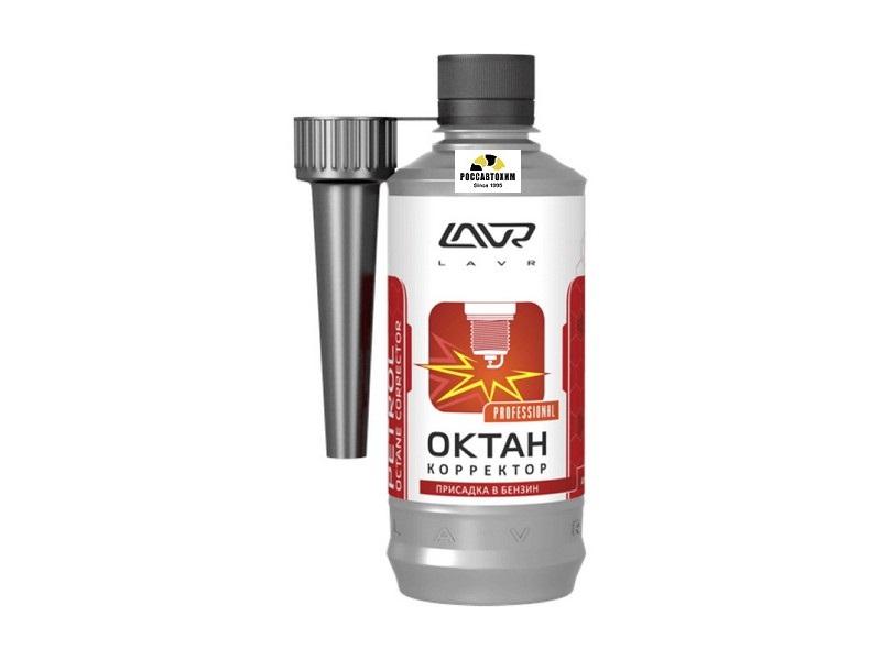 Октан Плюс LAVR присадка в бензин (40-60л) 310мл. /2111/