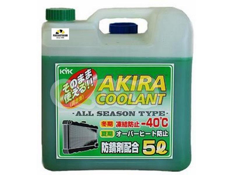 Akira Coolant -40 зеленый / Антифриз всесезонный (5л)