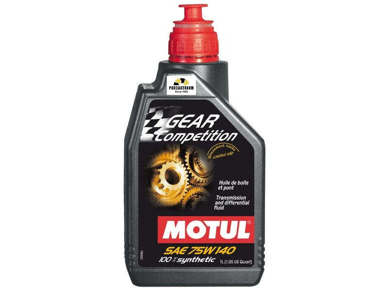 MOTUL Gear FF Comp GL-5 75w140 1л NEW  (транс.)  /105779/