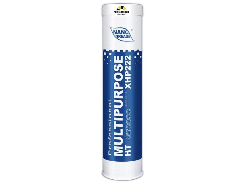 АКЦИЯ Смазка NANO BLUE Multipurpose HT Grease 0.4кг (Синяя)  (комплект 12шт)