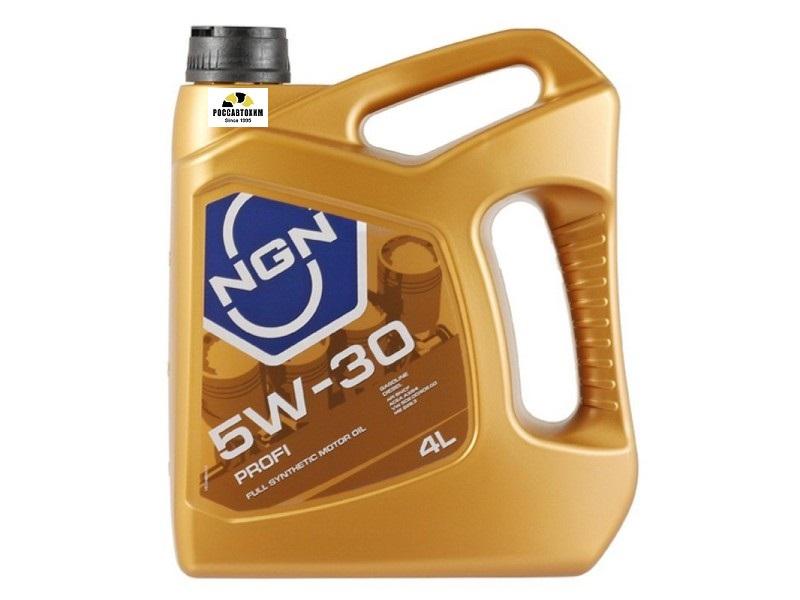 NGN 5W-30 SN/CF PROFI 1л (синт. мотор. масло)  5W30SNCFPROFI1L