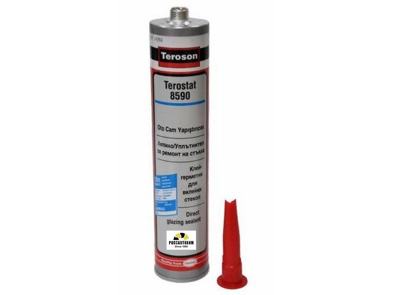 Клей-герметик д/вклейки стекол Terostat 310мл  картуш  PU8590
