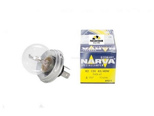 Лампа NARVA R2 49211 C1 45/40W P45t 12V