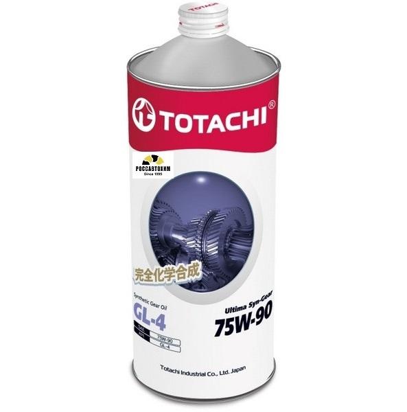 TOTACHI Ultima Syn-Gear 75w90 GL-4  1л  синт.