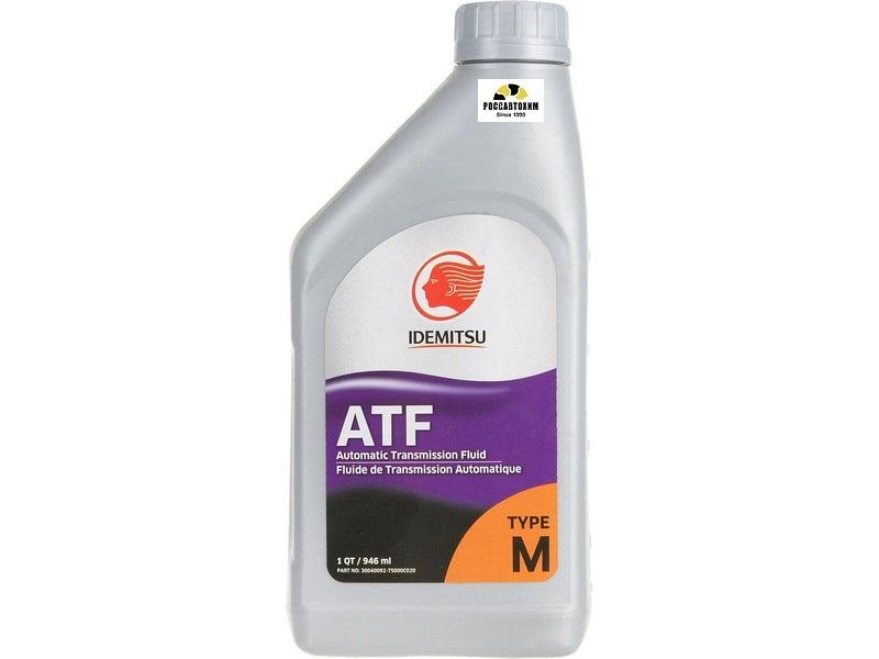 IDEMITSU ATF TYPE-M / Жидкость для АКПП (946мл)/30040092-750/
