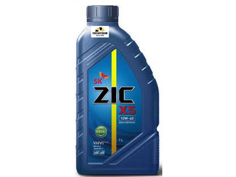 ZIC X5 Diesel 10w40 1л