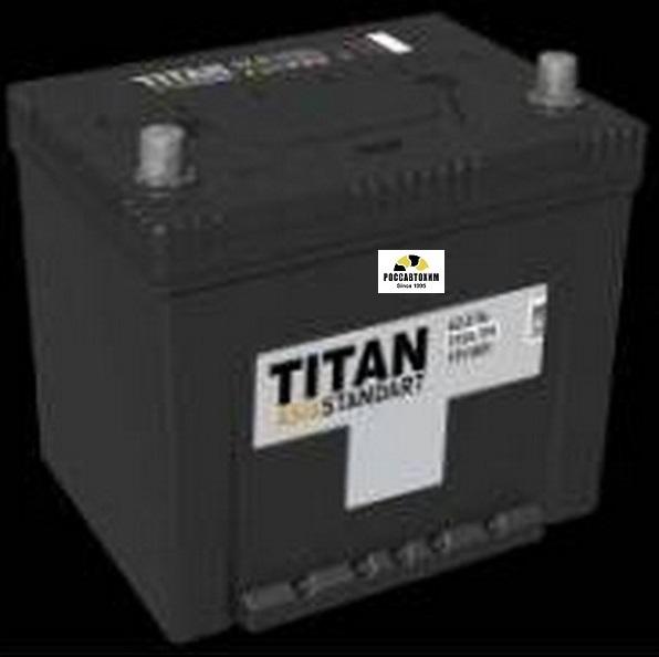 АКБ Титан-Asia Standart 6СТ-62.0 VL B01  62 А/ч о/п (нижнее крепление)