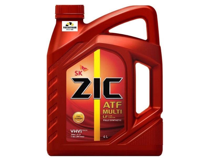 ZIC ATF Multi LF  трансм. синт. 4 л