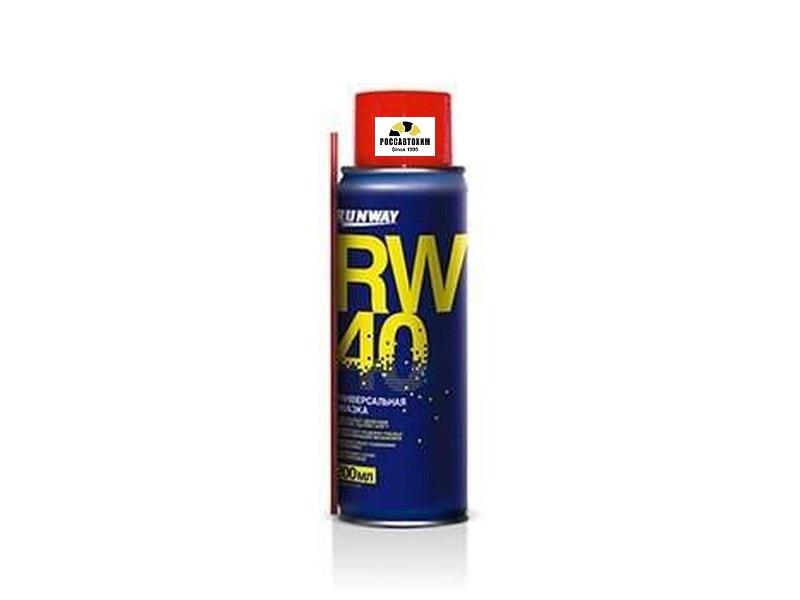 Универсальная смазка RW-40 200мл(аэроз.) RW6096