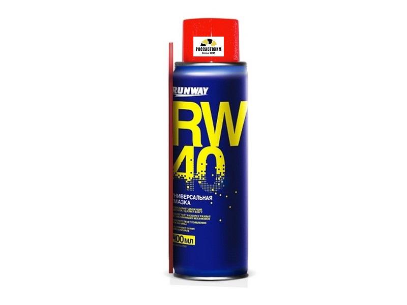 Универсальная смазка RW-40 400мл(аэроз.) RW6098