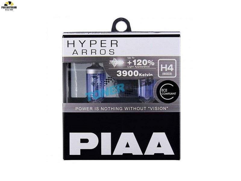 PIAA BULB HYPER ARROS 3900K HE-900 (H4) / Лампа накаливания