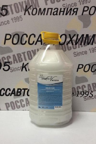 """Крем-мыло """"НЕЖНОЕ"""" с антибактериальным эффектом 5л ПЭТ-бутылка"""