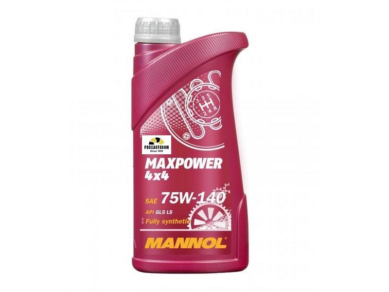 MANNOL Maxpower 4x4 75W-140 1л синт.