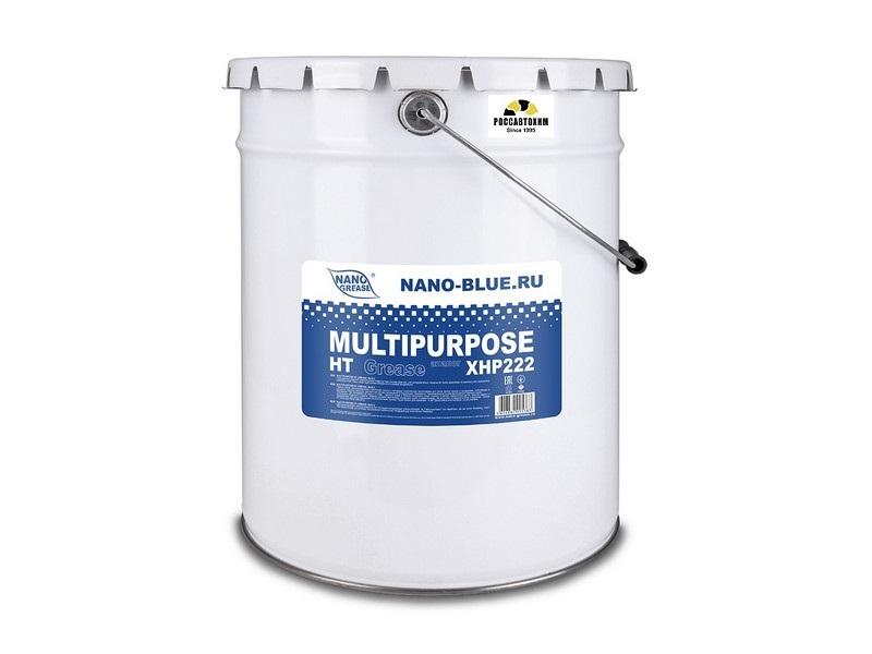 Смазка NANO BLUE Multipurpose HT Grease 5кг (Синяя)