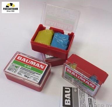 "Холодная сварка  , высокотемпературная "" BAUMAN e-kit "" 100гр."