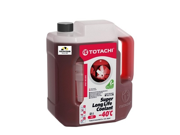 TOTACHI SUPER LONG LIFE COOLANT    Red   -40C   2л. ОЖ