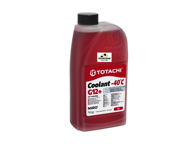 TOTACHI NIRO Coolant Red -40C   1кг Охлаждающая Жидкость