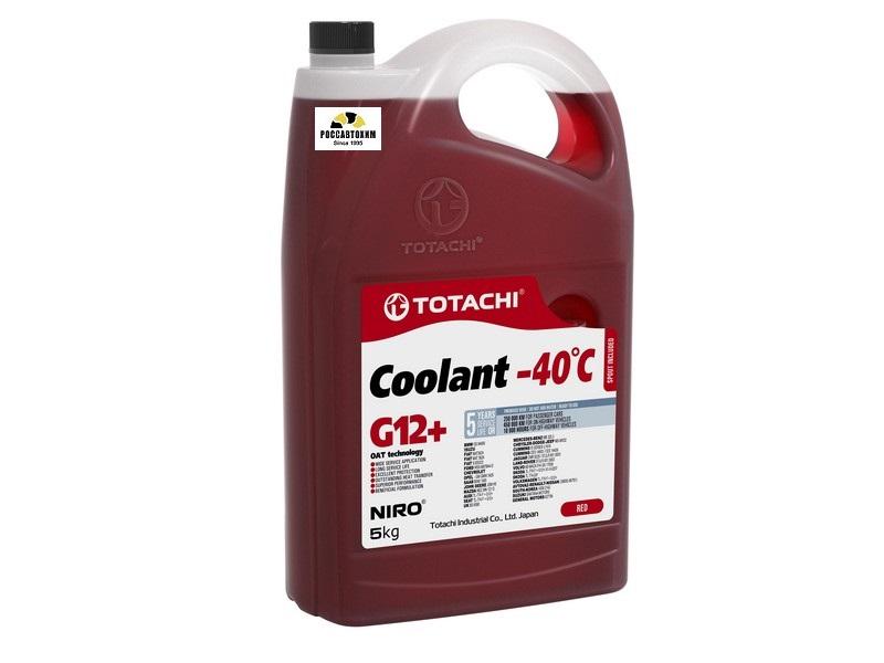 TOTACHI NIRO Coolant Red -40C   5кг Охлаждающая Жидкость