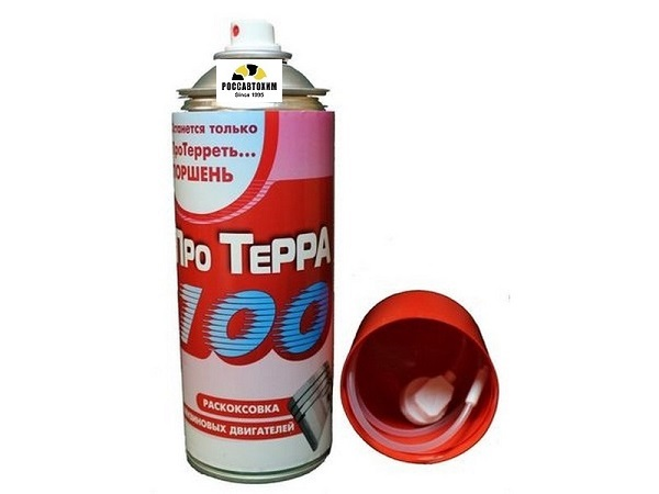 ПроТерра 100 Раскоксовка бензиновых двигателей, 520мл, аэрозоль (арт.РТ-100-520mlB)