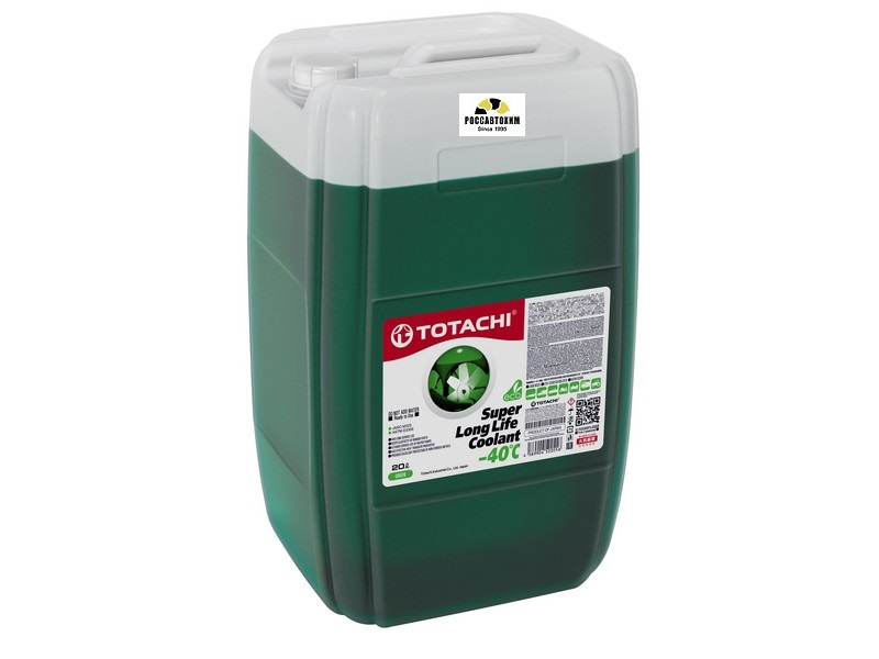TOTACHI SUPER LONG LIFE COOLANT    Green   -40C   20л.