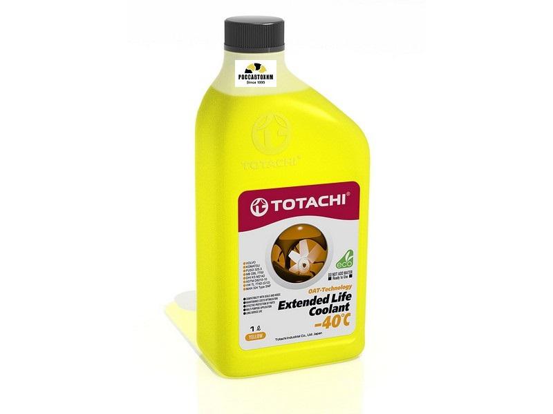 TOTACHI EXTENDED LIFE COOLANT    -40 C , 1л Охлаждающая жидкость низкозамерзающая (желтый)