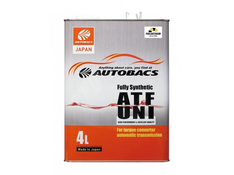 AUTOBACS ATF UNI FS / Масло трансмиссионное для АКПП (4л) A01555200
