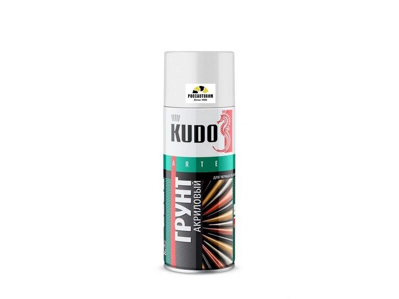 """Грунт акриловый """"KUDO"""" (520 мл) (серый) (аэрозоль) (универсальный) KU-2101"""