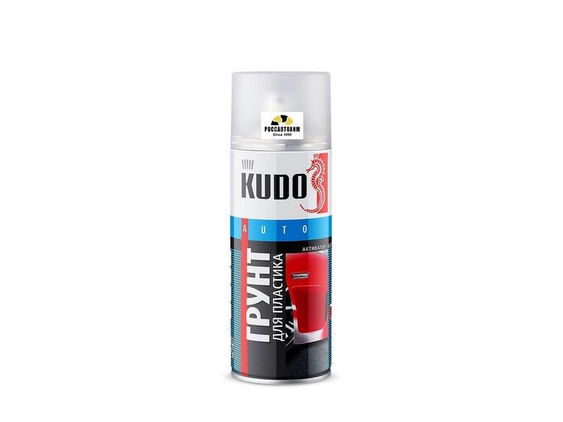 "Грунт для пластика ""KUDO"" (520 мл) (прозрачный) (аэрозоль) KU-6000"