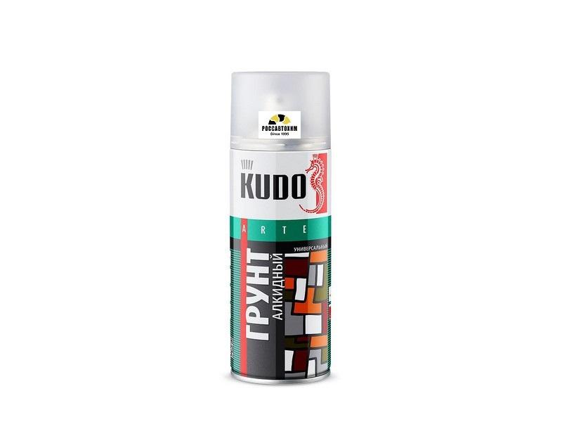 """Грунт универсальный """"KUDO"""" (520 мл) (серый) (аэрозоль) KU-2001"""