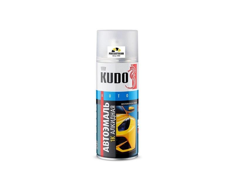 """Краска аэрозоль """"KUDO"""" 601 черный (520 мл) KU-4034"""