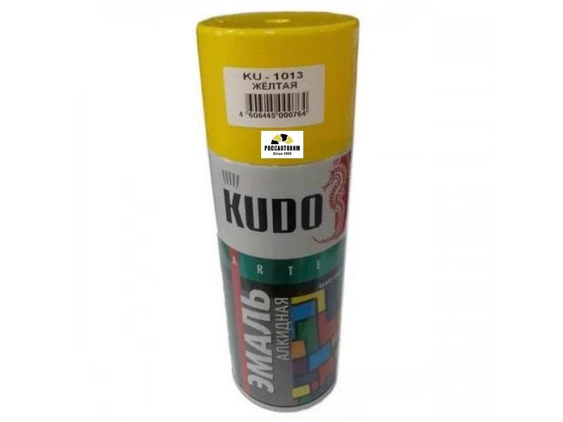 "Краска аэрозоль ""KUDO"" желтая (520 мл) KU-1013"