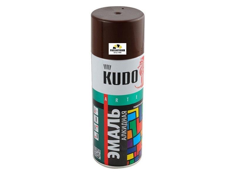 "Краска аэрозоль ""KUDO"" коричневая (520 мл) KU-1012"