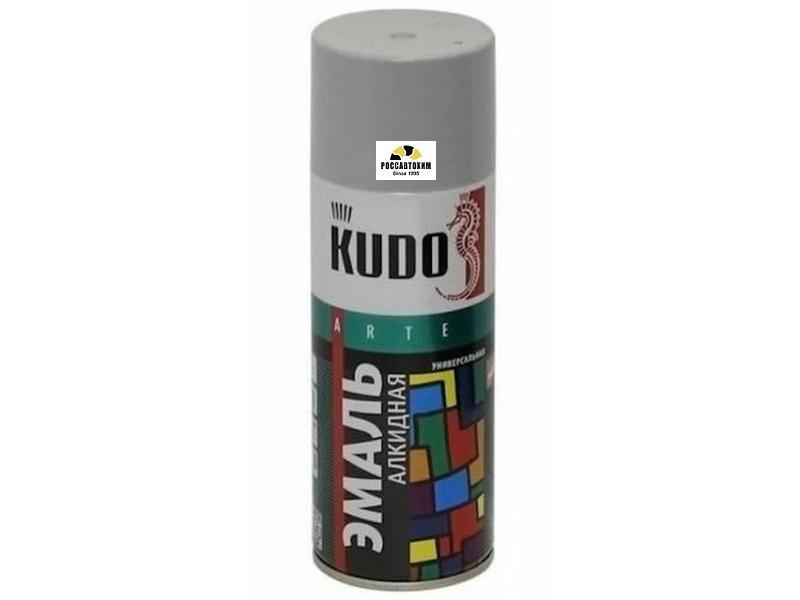 """Краска аэрозоль """"KUDO"""" светло-серая (520 мл) KU-1017"""