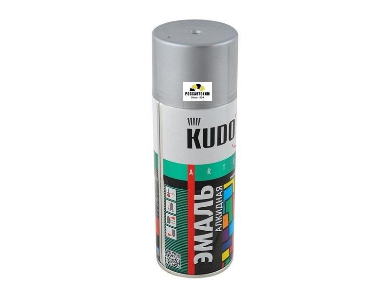 """Краска аэрозоль """"KUDO"""" серая (520 мл) KU-1018"""