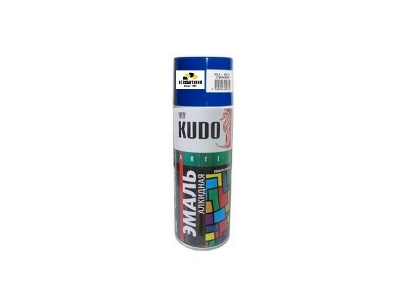 "Краска аэрозоль ""KUDO"" синяя (520 мл) KU-1011"