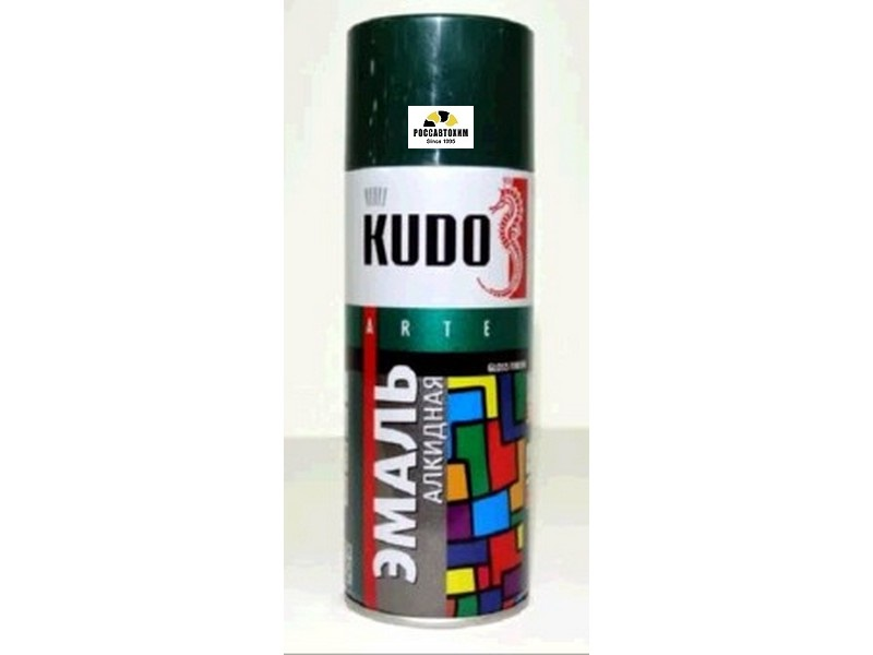 "Краска аэрозоль ""KUDO"" темно-зеленая (520 мл) KU-1007"
