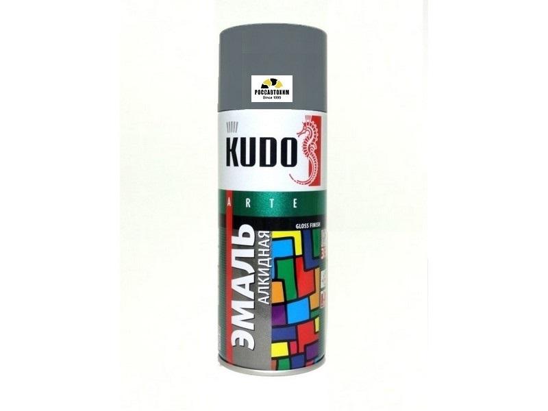 "Краска аэрозоль ""KUDO"" темно-серая (520 мл) KU-1016"