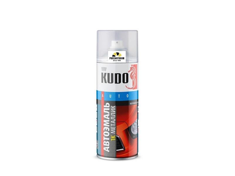 """Краска аэрозоль металлик """"KUDO"""" 230 жемчуг (520 мл) KU-41230"""