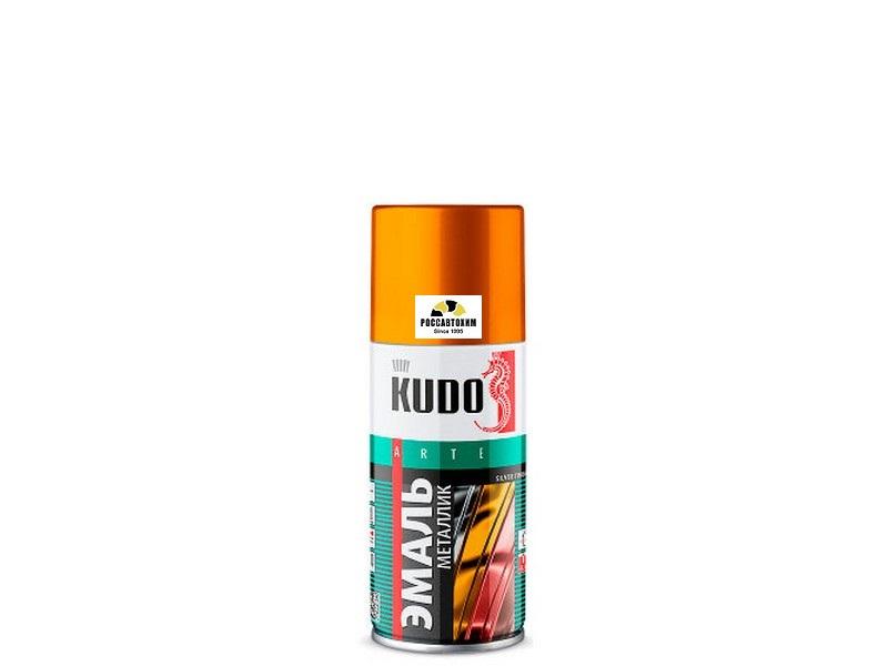 "Краска аэрозоль металлик ""KUDO"" золото (210 мл) KU-1028.1"