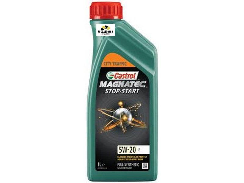 Castrol  Magnatec Stop start E 5W20 (1 л) синт.