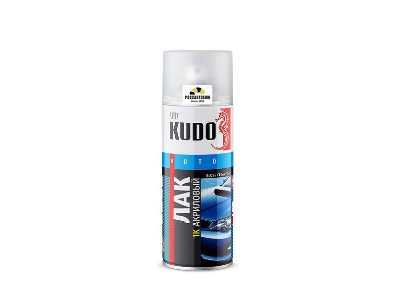 """Лак акриловый """"KUDO"""" 1K KU-9010 (520 мл) (аэрозоль)"""