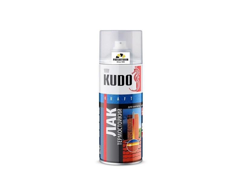"""Лак термостойкий """"KUDO"""" (520 мл) (аэрозоль)"""