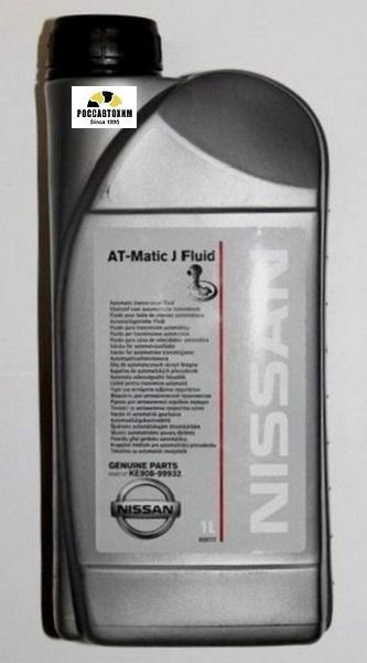 NISSAN AT-MATIC J FLUID  (Европа) / Жидкость для АКПП (1л)
